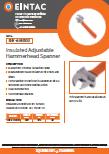 EHV-AHH300 Insulated Adjustable Hammer Head Spanner
