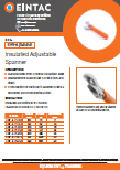 EHV-AJS Insulated Adjustable Spanner