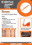EHV-AKA Insulated Angled Allen Keys