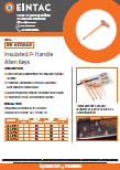 EHV-AKP Insulated P Handle Allen Keys