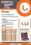 EHV-AKS5 Insulated Allen Key Sockets