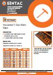 EHV-AKT Insulated T Bar Allen Keys