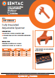 EHV-ASI Fully Insulated Adjustable Spanner