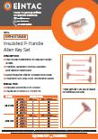 EHV-AST Insulated P Handle Allen Key Set