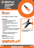 EHV-CCC322 Insulated Cable Cutter