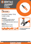 EHV-CCC324 Insulated Cable Cutter