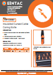 EHV-CCK060 Insulated Curved Cable Coring Knife