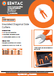 EHV-DSC Insulated Diagonal Side Cutters