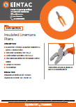 EHV-LMP Insulated Linemans Pliers
