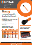 EHV-RRR Insulated Reversible Ring Ratchet Wrench
