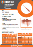 EHV-SLS Insulated Slotted Screwdrivers
