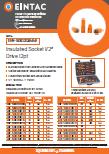 EHV-SOK1212 Insulated Socket Half 12pt