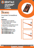 EHV-SST700 Insulated Screwdriver Sets