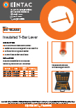 EHV-TBL Insulated T Bar Lever