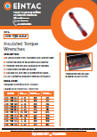 EHV-TQW Insulated Torque Wrenches