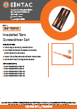 EHV-TSS706 Insulated Screwdriver Sets