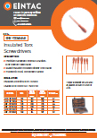 EHV-TXS Insulated Torque Screwdrivers